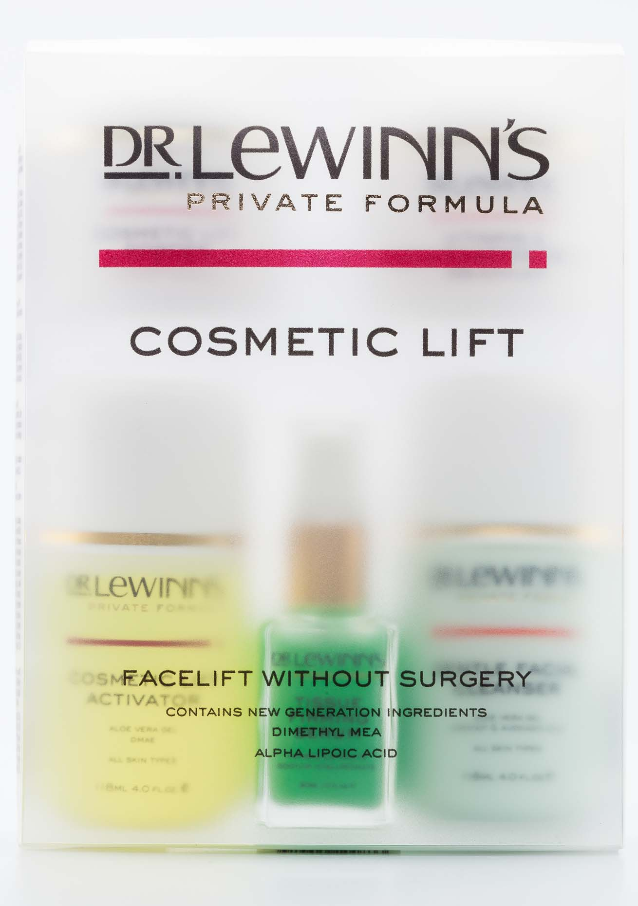 Dr Lewinns Product Shots